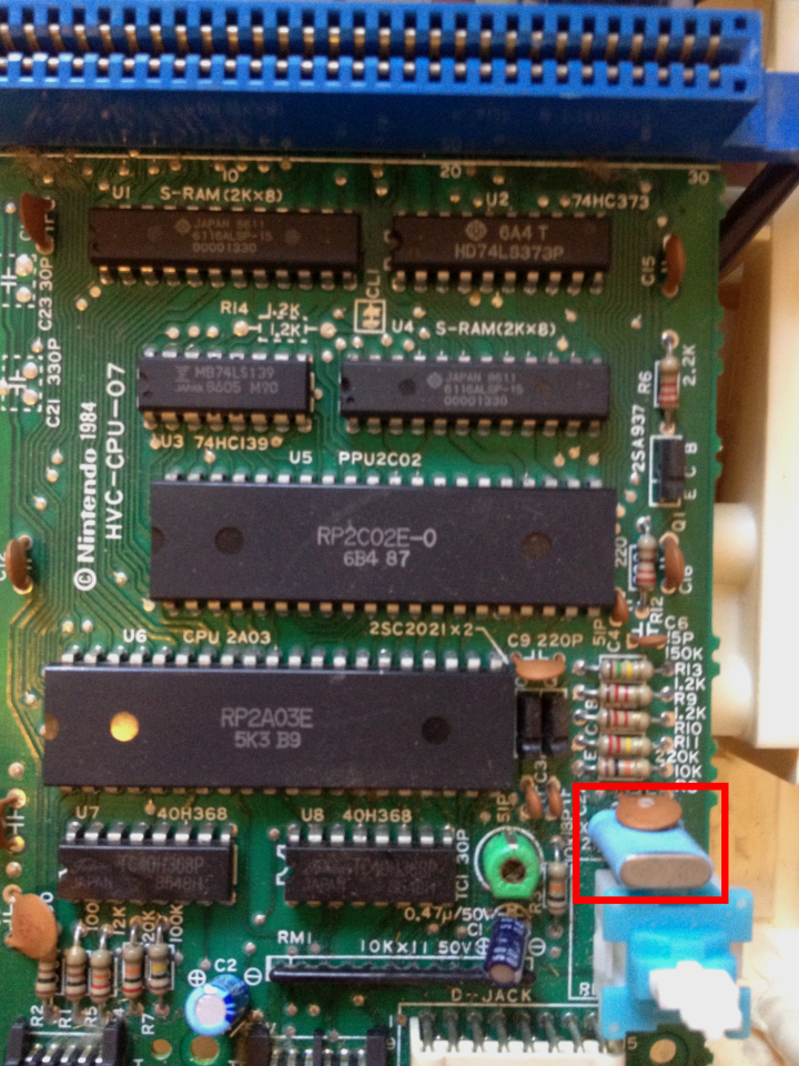 Famicom Circuit - Xtal