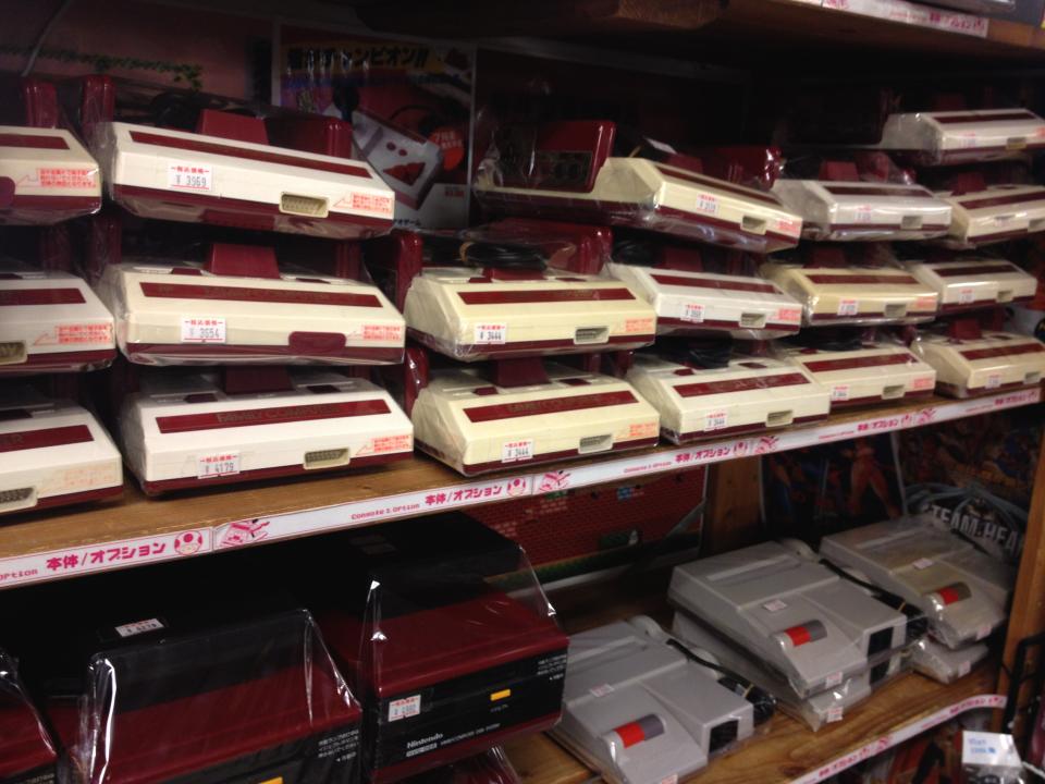 Famicom Shop in Akihabara
